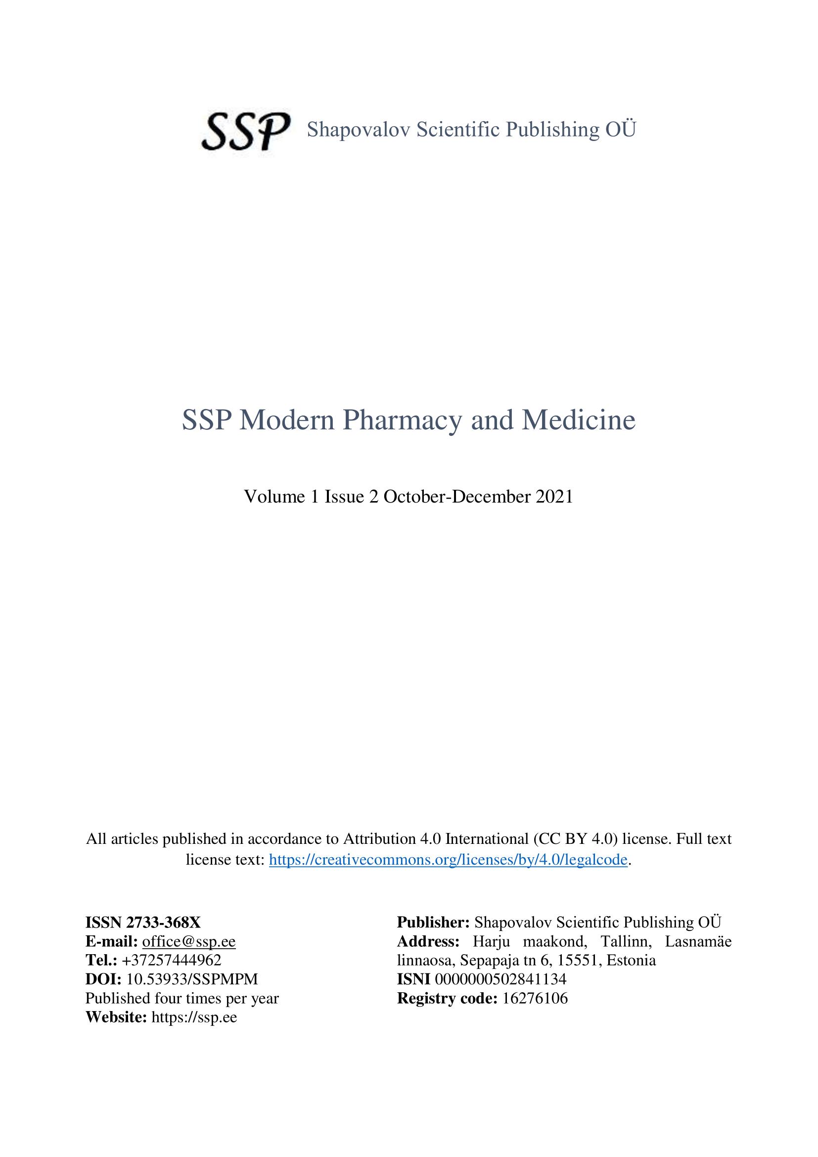 View Vol. 1 No. 2 (2021): Volume 1 No. 2 2021